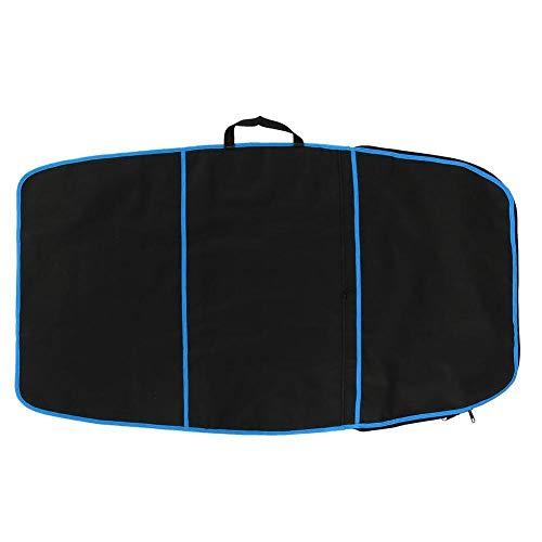 Tarente Tabla Bodyboard, Duradera Carry Tabla de Surf de Bodyboard Cubierta de Poliéster Bolsa de Accesorios de Surf (Franja Azul)