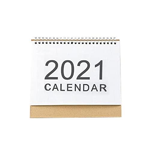 Calendario de escritorio 2021 Bobina en inglés Planificador mensual diario Calendario Agenda anual Calendario de pared Calendario de pared 2021 Calendario de pared grande 2021 Calendario de pared de