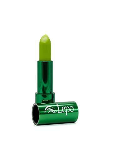 Lepo Pintalabios Cambiacolor - PH Sensible - Cosmética Natural de Calidad (Verde)