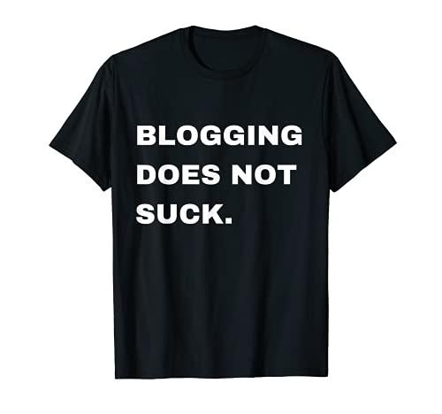 ブロガーへの面白いギフト 男性 女性 子供 ブログ Tシャツ