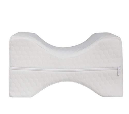 MLXZXQT Comfortable Memory Foam Mat Pillows Sleeping Bolster Under Knee Pillow Orthopedic Posture Supporter Leg Cushion