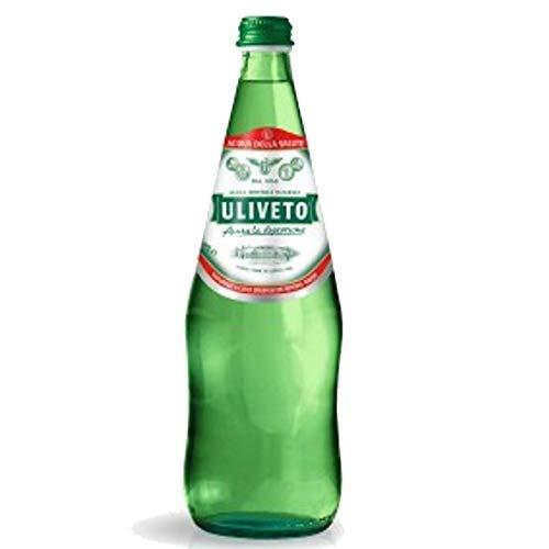 12 Bottiglie ACQUA ULIVETO NATURALE 75 cl. VETRO A PERDERE