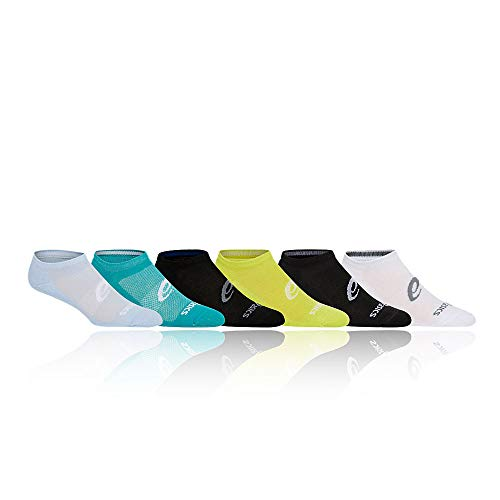 ASICS 6 Stück unsichtbare Socken. XL mehrfarbig