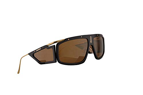 Carrera Facer Sunglasses Black Gold w/Brown Gold Lens 62mm 2M2K1