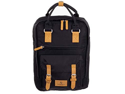 Franky RS52-S Freizeit Rucksack Daypack mit Laptopfach schwarz
