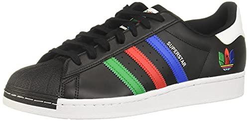 adidas Superstar Black Green White EUR 42