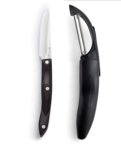 """Cutco 2 pc Peeler & Paring knife Combo Includes 3"""" Gourmet Paring Knife and vegetable Peeler/fOREVER GUARANTEE!!"""