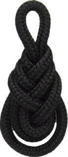 Câble Cordon 1.8 M Knots Nœud asiatique épais Noir