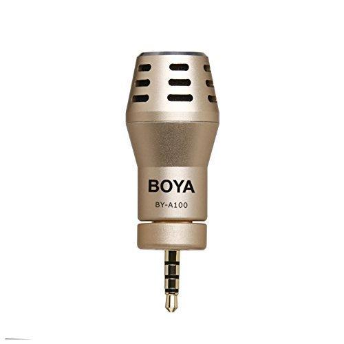Boya by-a100 Externe microfoon voor iPhone/iPad zwart