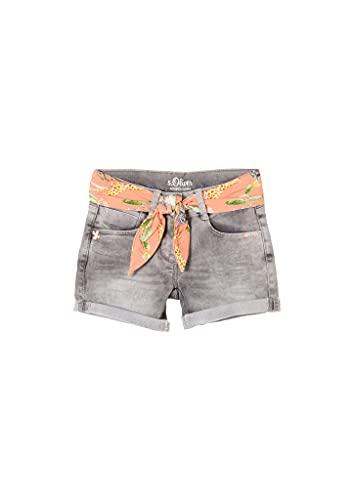 s.Oliver Junior Mädchen 403.10.104.26.180.2062560 Jeans-Shorts, 93Z7, 116