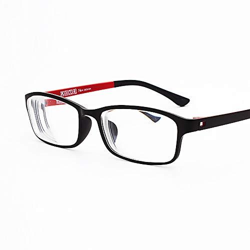 Rongchy Myopie Brille Herren Damen Stilvolle TR90 Brille Kurzsichtige Brillen -0,50 bis -6,00 *** Bitte beachten Sie, dass diese keine Lesebrille sind ***
