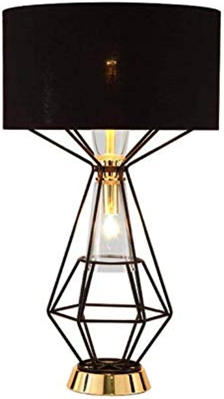 Led Unterbauleuchte Lichtleiste Deckenlampeeinfache Tischlampe, Postmodernes Wohnzimmer Eisenhohlstudie Musterraum Schwarz E27  1 Netzschalterknopf Nordische Kreativitt