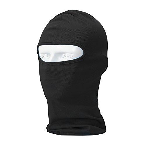 Your Choice Balaclava Thin UV Protective Sports Ski Face Mask (Black)