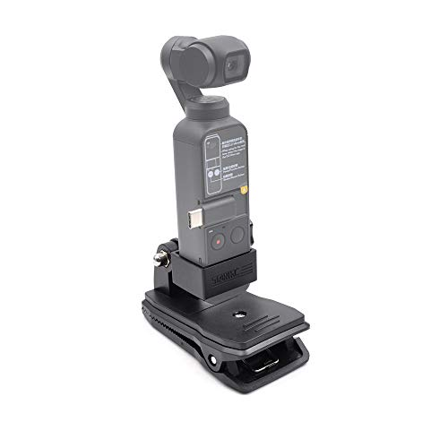 STARTRC OSMO Pocket 2 Supporto Backpack Clip, Handle Expansion Kit Mount per for DJI Pocket 2/OSMO Pocket/OSMO Action Accessori