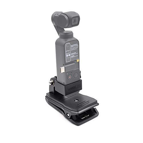 STARTRC Pocket 2 Halterung Rucksackclip Adapter Zubehör für DJI Pocket 2/OSMO Pocket/OSMO Action Kamera Stativhalterung