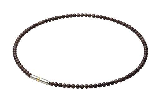 Phiten (Phiten) Halskette RAKUWA Hals Metakkusu Crystal Touch Schwarz 50cm