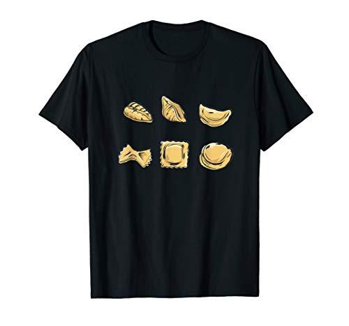 Pasta Italiänische Nudeln Farfalle Tortellini T-Shirt