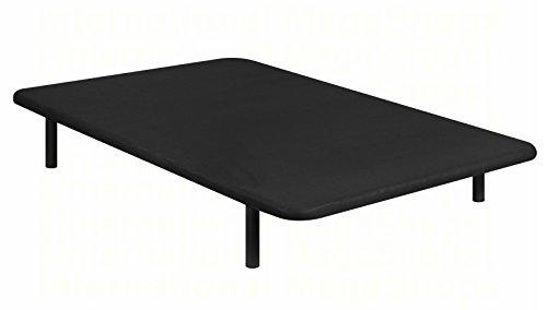 BASE TAPIZADA PIKOLIN DIVANLIN 3D TRANSPIRABLE -ENVÍO Y MONTAJE GRATUITO- DISPONIBLE EN TODAS LAS MEDIDAS (90x190, NEGRO)