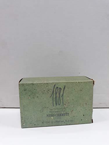 CERRUTI 1881 - Jabón perfumado y envasado para hombre, 150 g