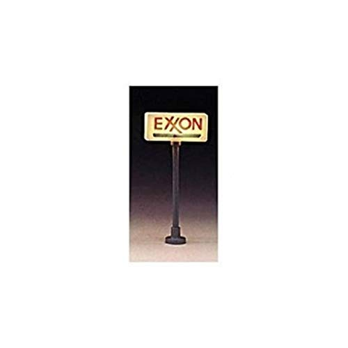Model Power MDP705 HO SIGNS, EXXON LIGHTED(2)