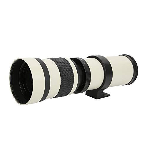 Topiky Lente teleobjetivo 420-800 mm F/8.3-16, Lente de Zoom del telescopio de...