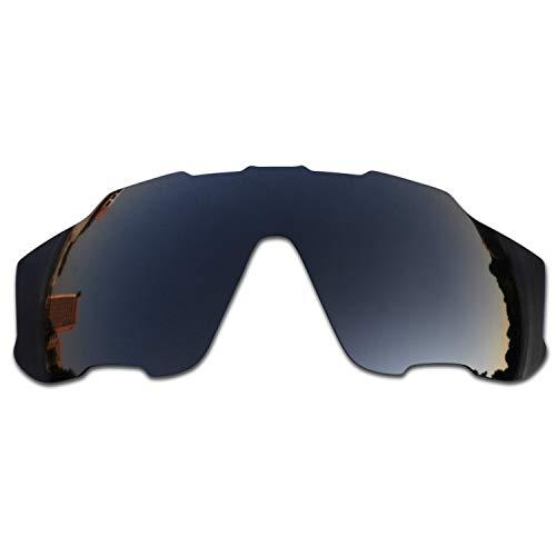 SOODASE Para Oakley Jawbreaker Gafas de sol Negro Lentes de repuesto polarizadas