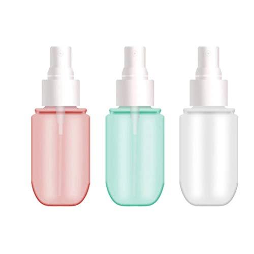 Botellas de Spray, 1,35 oz / 40 ml / 3 Piezas de Botellas de Spray Recargables, Mini Botella de Spray para llenar Perfume, desmaquillador, Alcohol, etc.