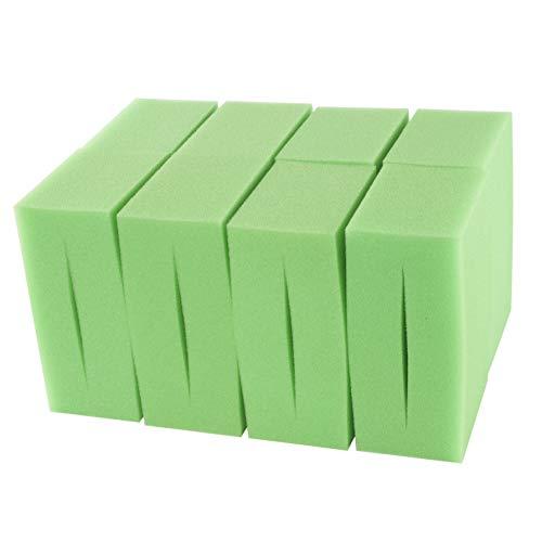 LTWHOME Compatible en Mousse Convient pour Oase Biotec Screenmatic 18 & 36 Remplacement Etang Excellent Vert Mousseux Filtre Éponge (Paquet de 8)