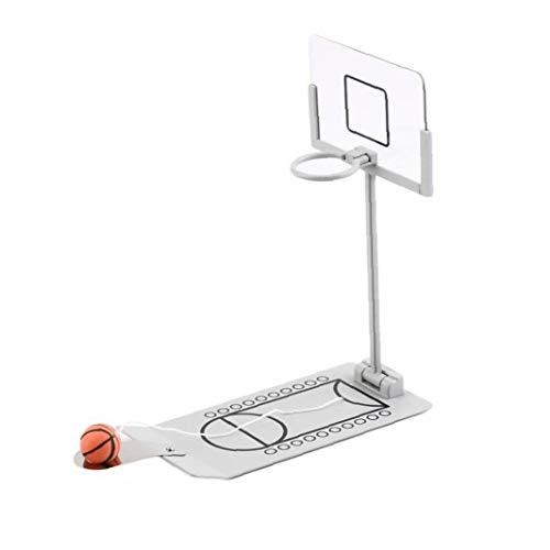 OMMO LEBEINDR Miniatur-Basketball-Spiel-Spielzeug Kreative Lustige Mini-Desktop-Basketball Tisch Basketball-Spiel Für Home Office 1set Nützliches