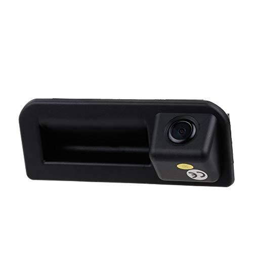 HD Night Vision voiture tronc poignée caméra de recul caméra de recul pour VW Polo sedan/Vento/BORA/JETTA/Sagitar/Rapid/Audi Q2/ Audi A5/ Cayenne /Audi Q5L /KODIAQ、Skoda KAROQ / 2016-2018