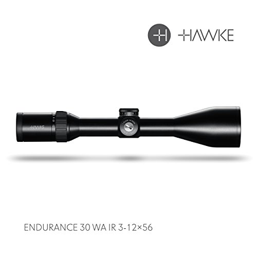 Hawke Endurance 30 WA 3-12x56 LRC Model 2018 Zielfernrohr, schwarz, M