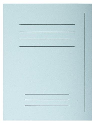 Exacompta 435006E - Lote de 50 Subcarpetas Forever® 250 Impresas, Color Azul Claro