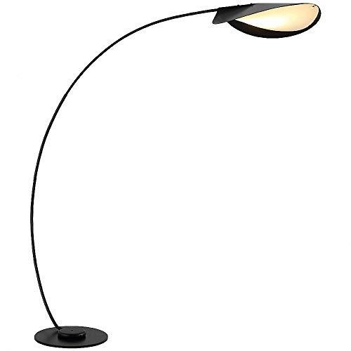 CBA BING Arc LED-vloerlamp, modern gebogen licht voor achter de bank,3 kleurtemperaturen, futuristische verlichting