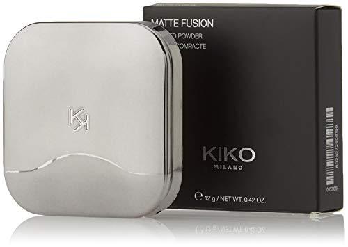 KIKO Milano Matte Fusion Pressed Powder 01 | Polvos compactos con acabado mate natural