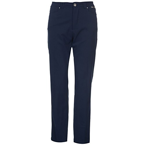 Slazenger Damen Golf Hose Taschen Marineblau M