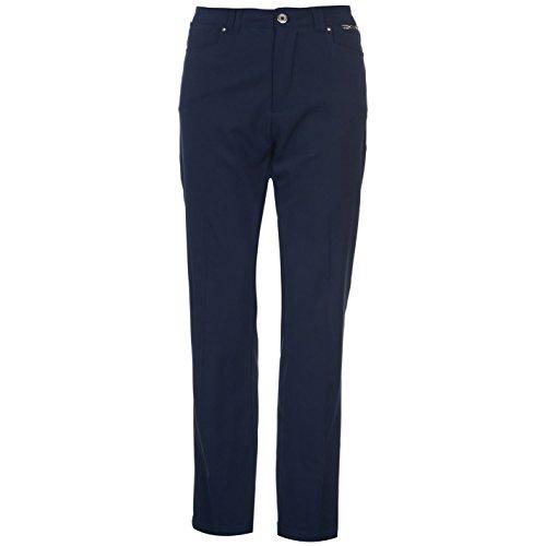 Slazenger Damen Golf Hose Taschen Marineblau S