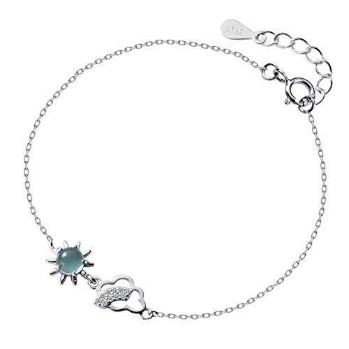 Helen de Lete S925Sterling Silver Sunshine After Storm braccialetto