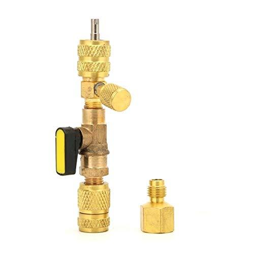 Airco-klep 1/4 inch AC ventiel verwijderaar R12 R22 size R410A Omschakelklep koelsysteem auto Snelafsluiter removal tool hulpmiddelen voor reparatie