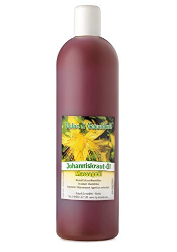 Johanniskrautöl - 500 ml zur Dorn Breuss Massage