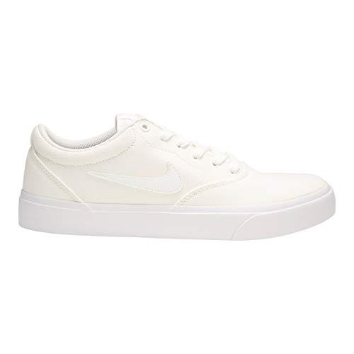 Nike SB Charge SLR, Zapatillas de Deporte Unisex Adulto, Blanco (White/White/White 000), 45.5 EU