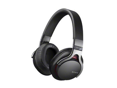 Sony MDR-1RBT – koptelefoon en microfoon (bekabeld & draadloos, hoofdband, circum-agno4 – 80000 Hz, zwart)