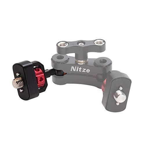 "Nitze 15mm Ballhead with 3/8""-16 Screw and ARRI Locating Pins - N50-T08-3/8"