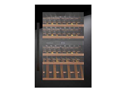 Küppersbusch FWK 2800.0 S2 K-Series 8 Einbau Weinklimaschrank Schwarz/Black Chrome