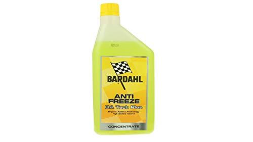 Bardahl Antifreeze OA Tech Plus Antigel jaune canarin concentré -37 °C + 108 °C 1 l