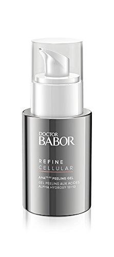 DOCTOR BABOR AHA 10+10 Peeling-Gel für regenerationsbedürftige Haut, Fruchtsäurepeeling für das Gesicht, Vegane Formel, Verfeinerte Poren, 1 x 50 ml