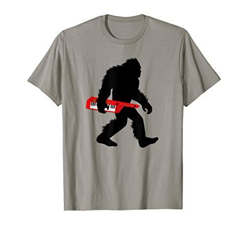 Bigfoot Keytar T-Shirt
