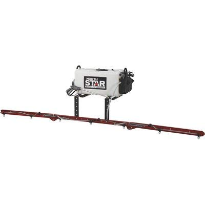 NorthStar High Flow ATV Broadcast and Spot Sprayer with Deluxe 7-Nozzle Boom- 26-Gallon Capacity, 5.5 GPM, 12 Volts