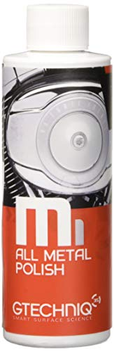 Gtechniq M1 All Metal Polish 100ml - Produces A Clear Finish On Any Type Of...