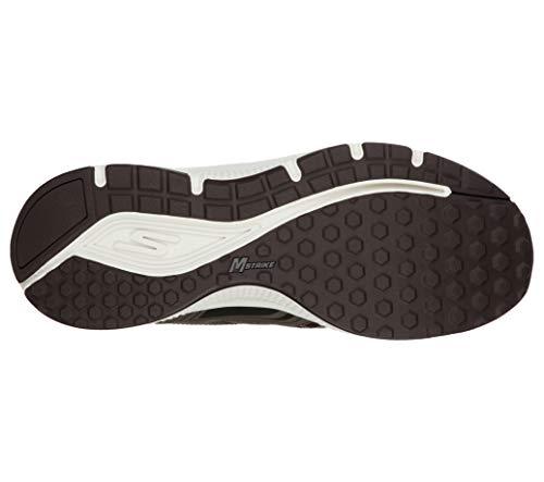Skechers Go Run Consistent, Zapatillas para correr Hombre, Marrón, 42.5 EU