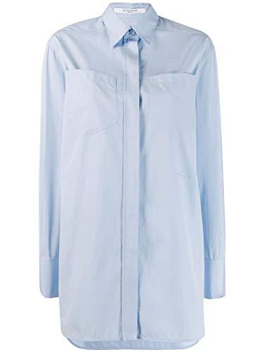 Givenchy Luxury Fashion Damen BW60JC111N487 Hellblau Hemd | Herbst Winter 19